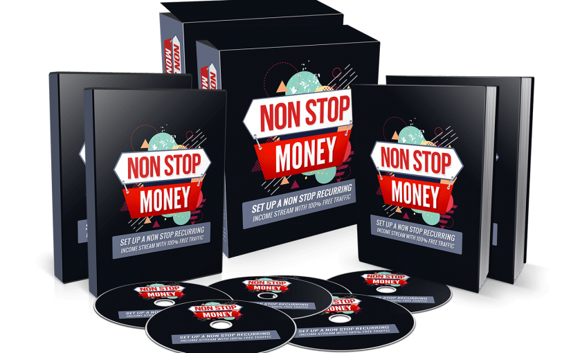 NonStop MONEY Review – Non-Stop Recurring Income stream with 100% Free Traffic