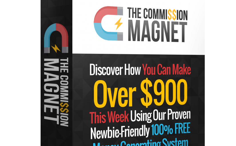 [Commission Magnet] How He Made Over 900 Bucks in a Week?